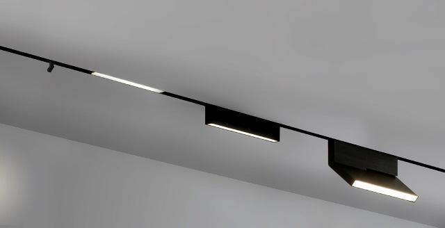 On line by bart lens lucept for Modern led track lighting