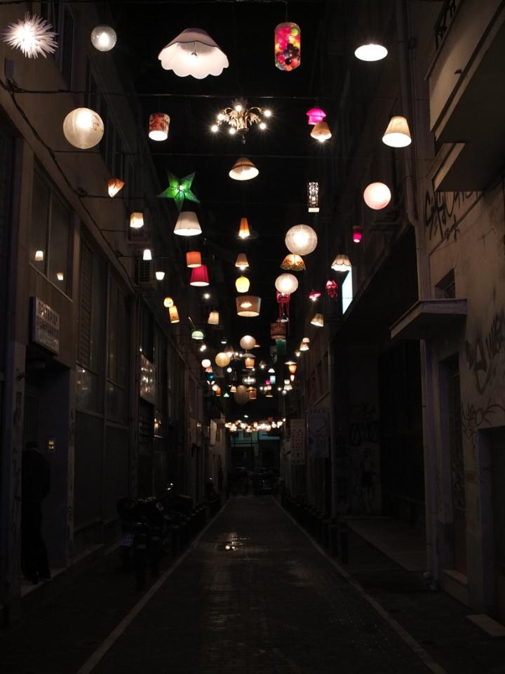 design boom athens alleyway