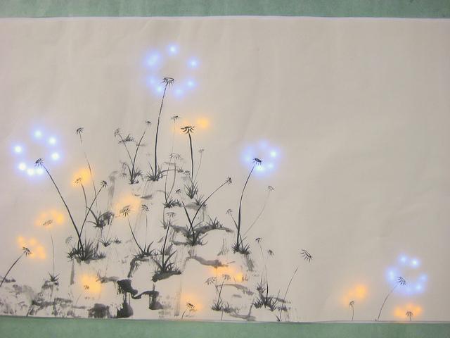 JieQi_Dandelion Painting____7120445933_7de87c2bd9_z