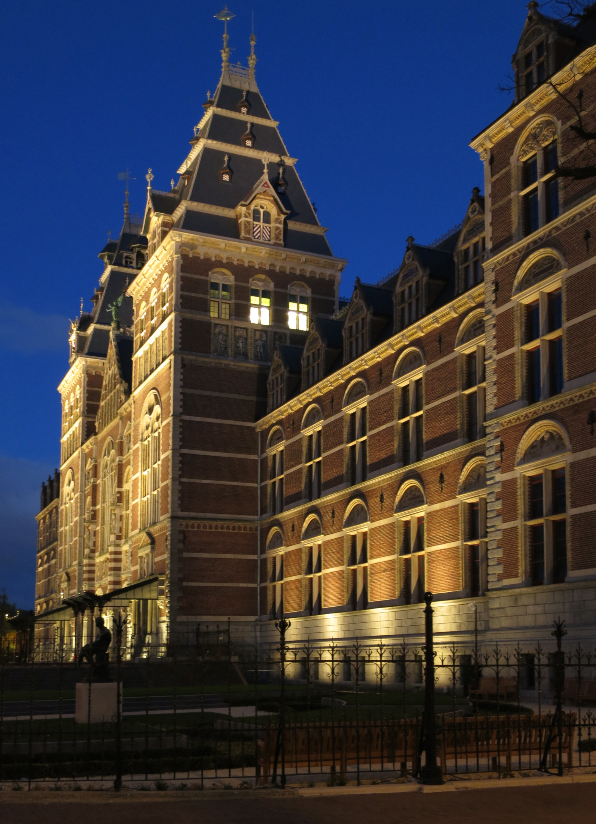 Rijksmuseum Exterior Lighting Lucept