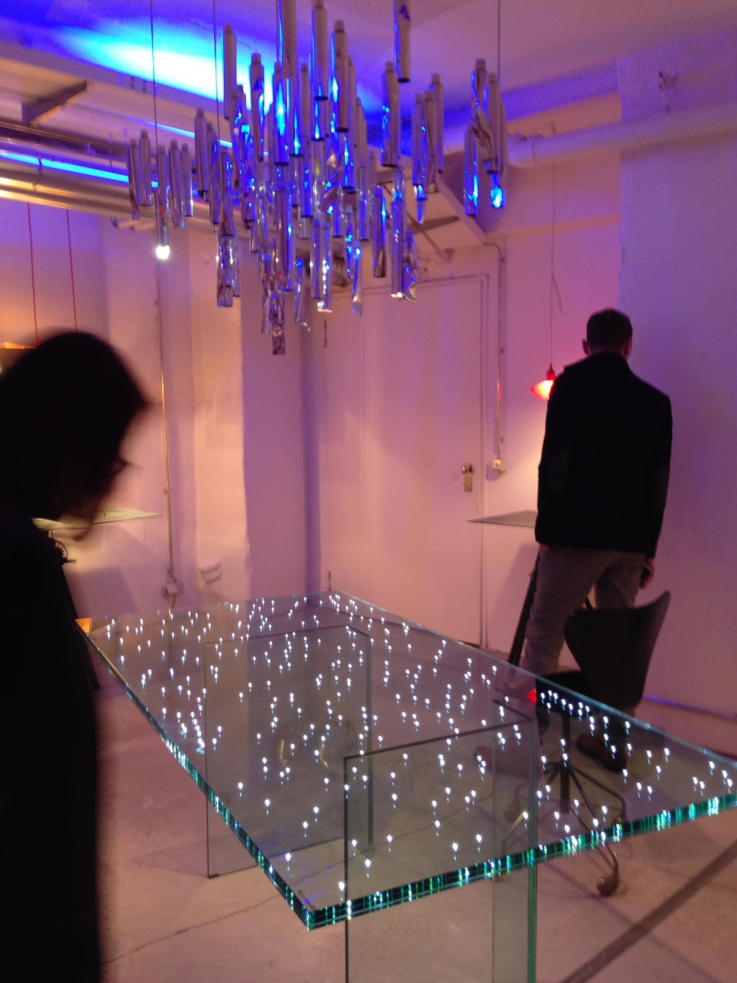 ingo maurer gallery in munich lucept. Black Bedroom Furniture Sets. Home Design Ideas