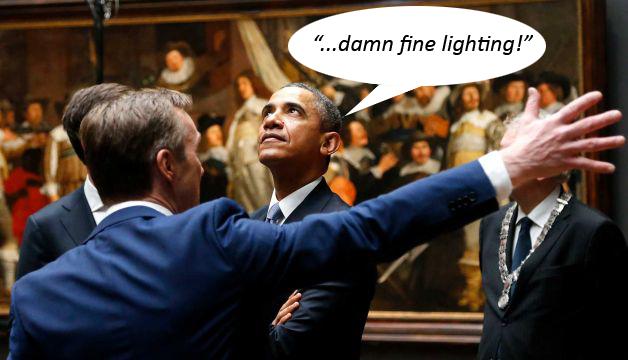 Obama-Rijks-Bubble