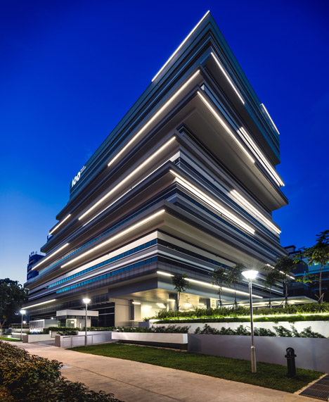 ministry of design 100PP project in singapore & facade lighting | Lucept azcodes.com