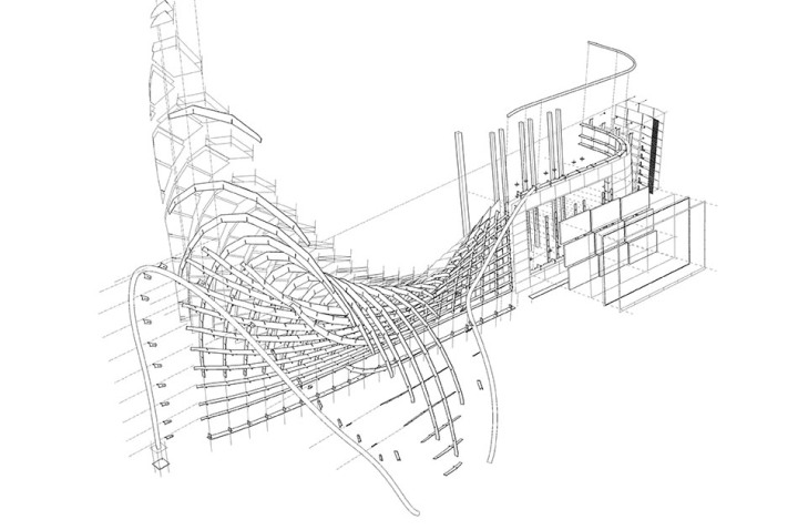 DTV-3D exploded drawing
