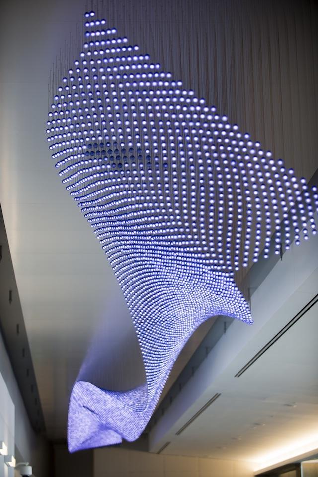 jim campbell's sculptural LED installations – Lucept