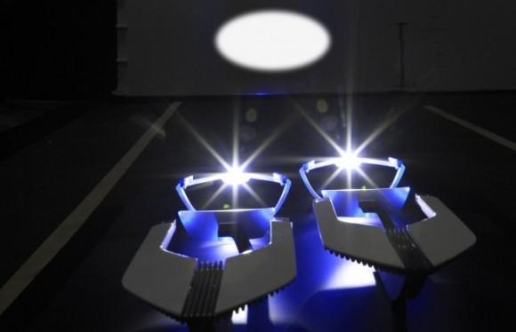 Automotive Laser Lighting Lucept