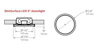 Lightolier Slim Surface 2