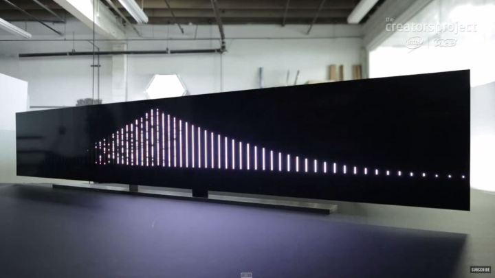 Leo Villareal - bay bridge model 2