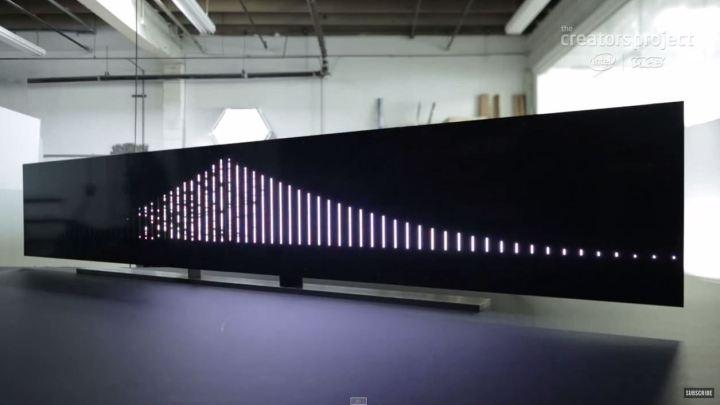 Leo Villareal - bay bridge model 2
