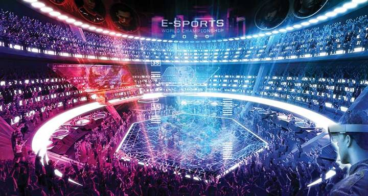 Populous - Esports-Stadium-Interior